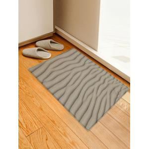 Desert Sand Line Pattern Water Absorption Area Rug -