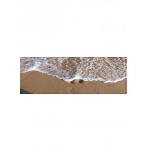Sandbeach Wave Pattern Absorption d'eau Tapis -