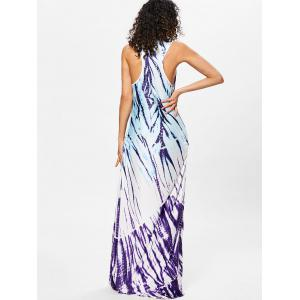 Scoop Neck Racerback Maxi Dress -