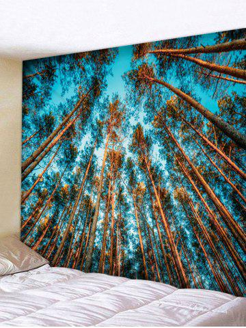 Affordable Wall Hanging Art Forest Sky Print Tapestry