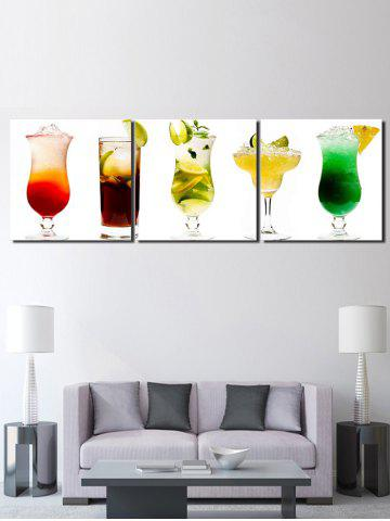Sale Different Fruit Juice Printed Unframed Canvas Paintings