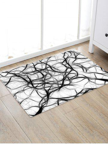 Tapis de Sol Absorbant Motif Art Abstrait
