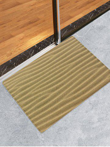 Store Desert Sand Lines Print Water Absorption Area Rug