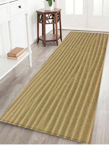 Affordable Desert Sand Lines Print Water Absorption Area Rug