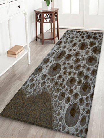 Chic Beach Sea Froths Pattern Water Absorption Area Rug