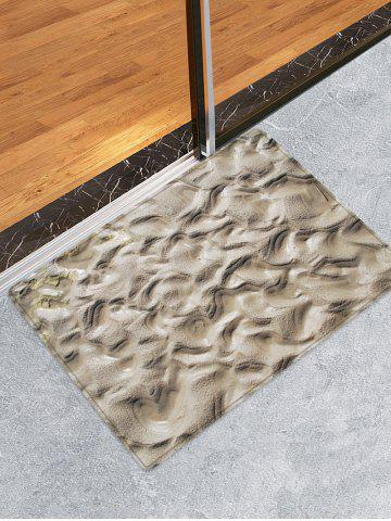 Latest Indentations In The Mud Pattern Water Absorption Area Rug