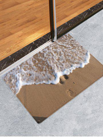 Sandbeach Wave Pattern Absorption d'eau Tapis