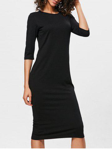 Discount Bodycon Knee Length Shift Dress