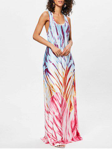 Best Scoop Neck Racerback Maxi Dress