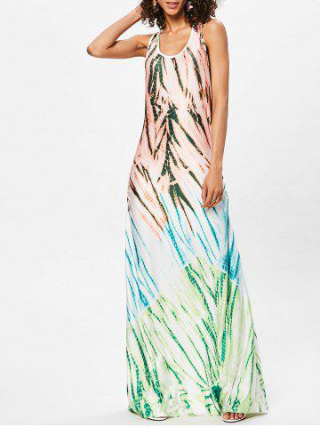 Outfits Scoop Neck Racerback Maxi Dress