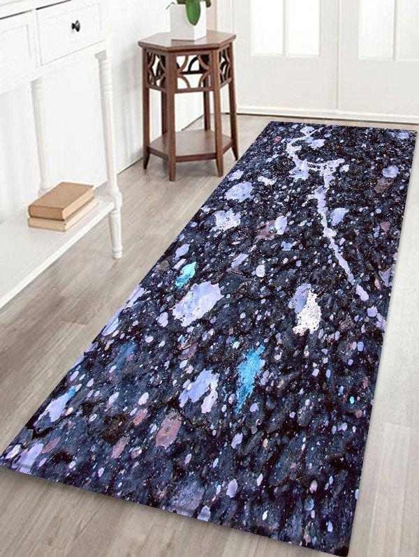 Outfit Mud Pattern Anti-skid Water Absorption Area Rug