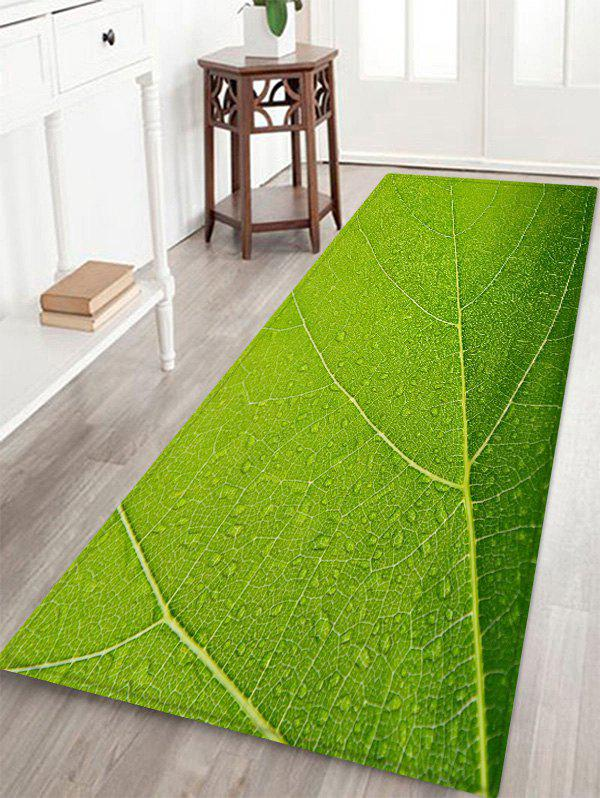 Outfits Leaf Texture Pattern Water Absorption Area Rug