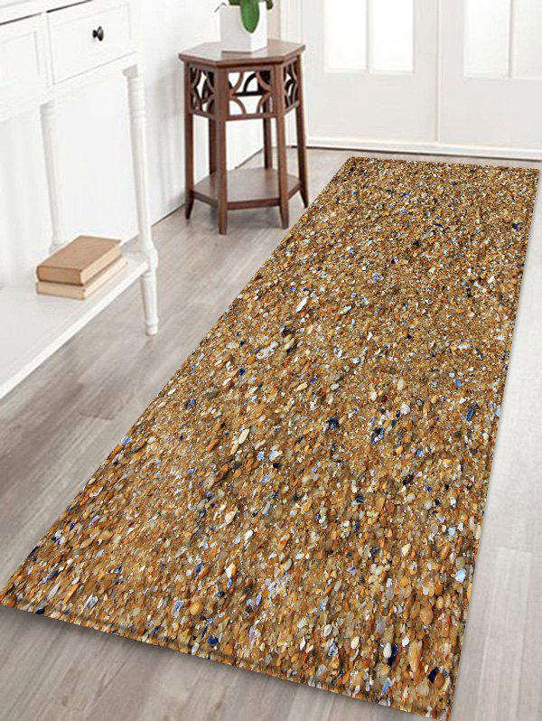 Buy Beach Stones Pattern Water Absorption Area Rug