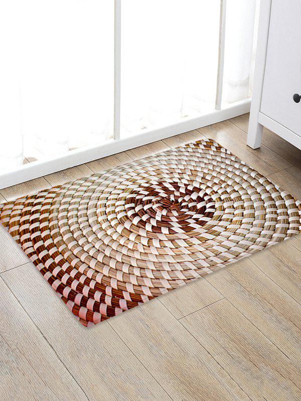 New Straw Weaving Pattern Water Absorption Area Rug
