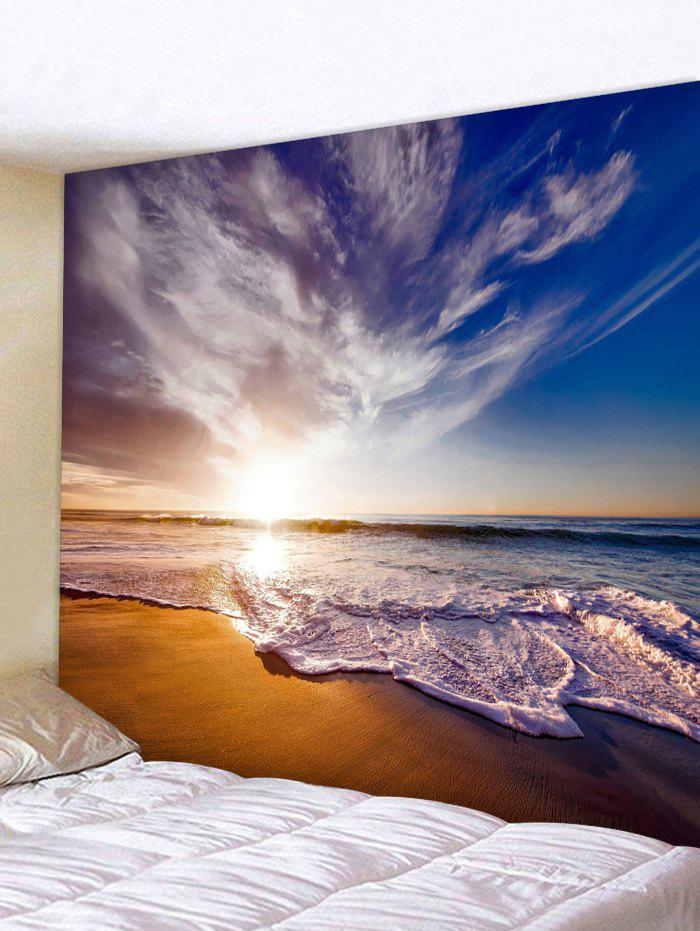 Best Wall Hanging Art Beach Sunrise Print Tapestry