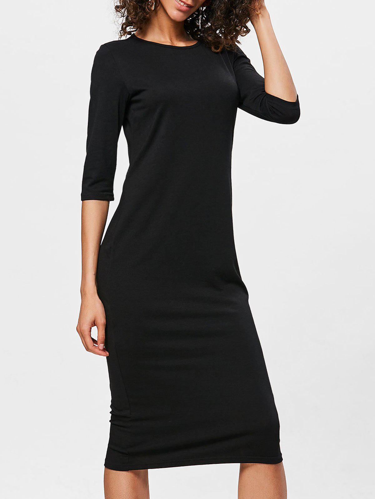 Outfit Bodycon Knee Length Shift Dress