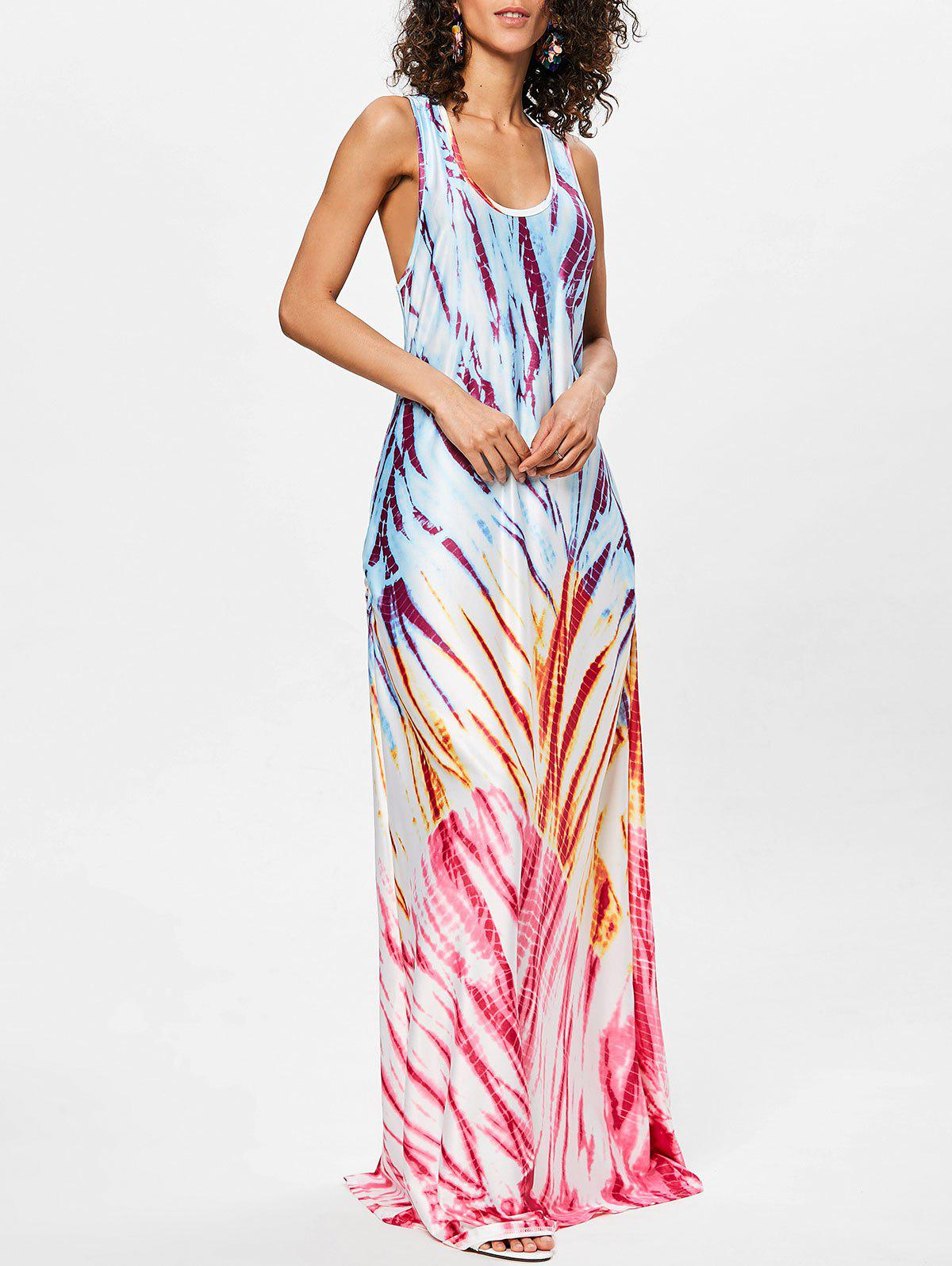 Store Scoop Neck Racerback Maxi Dress