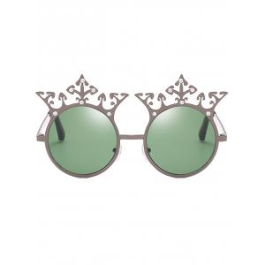 Lunettes de soleil Crown strass Sun Shades Circle -