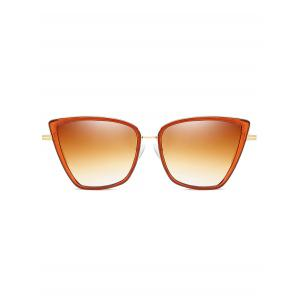 Anti Fatigue Metal Frame Catty Sunglasses -