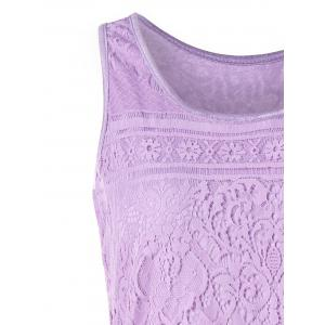 U Neck Lace Tank Top -