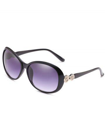 Trendy Metal Carving Frame Sun Shades Sunglasses