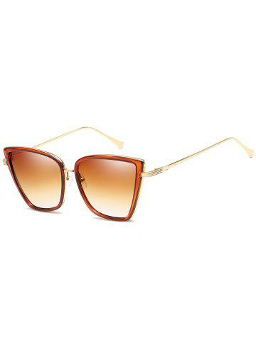 Sale Anti Fatigue Metal Frame Catty Sunglasses