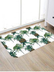 Fruit Pineapples Pattern Floor Area Rug -