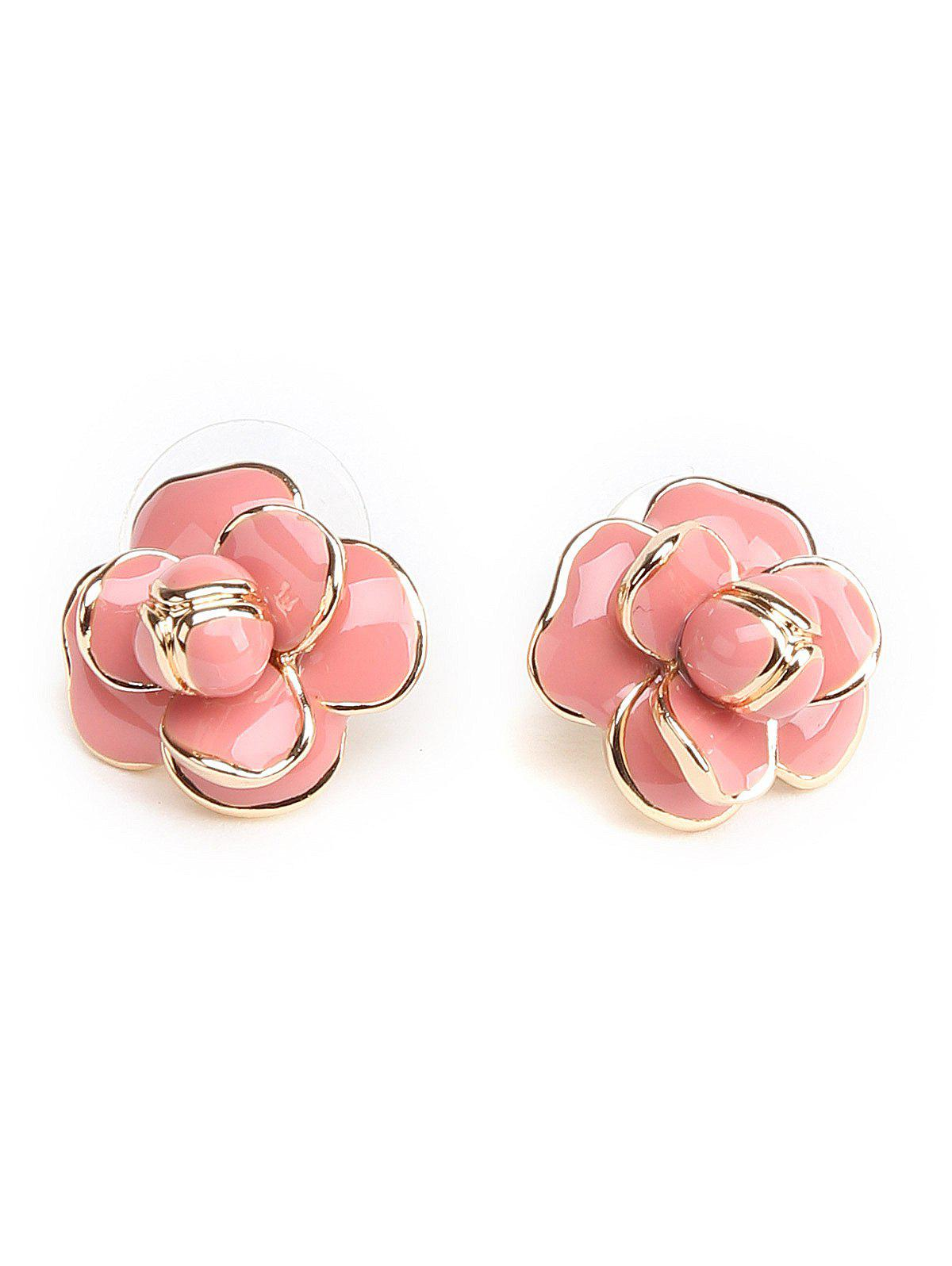 Store Cute Floral Decorated Stud Earrings