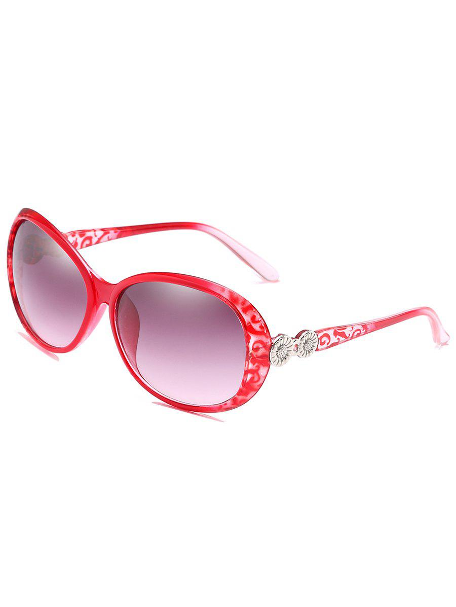 Outfits Metal Carving Frame Sun Shades Sunglasses