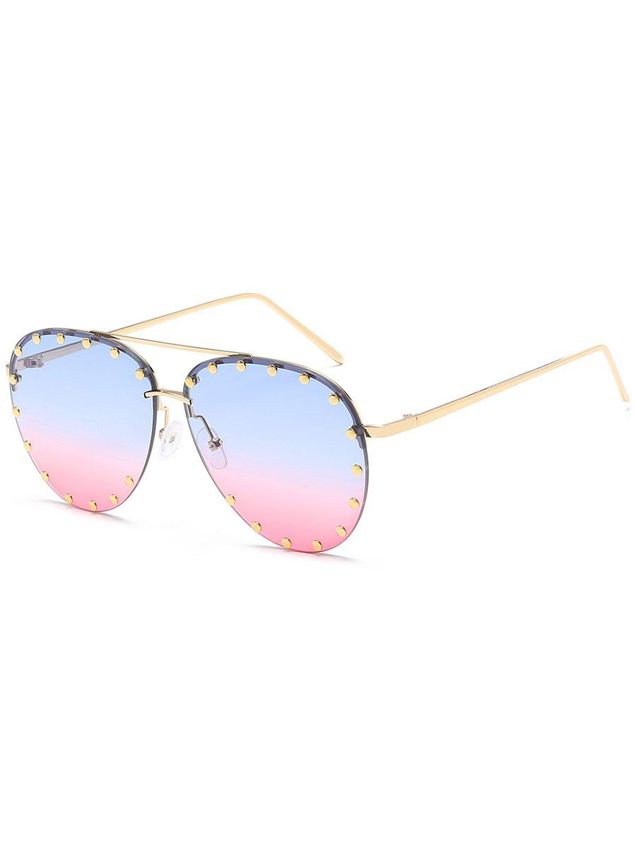Hot Anti Fatigue Metal Studs Driving Sunglasses