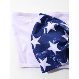 Stars and Stripes Print Crop Top -