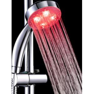 7 Color Changing LED Lights Handheld Bathroom Shower Head -