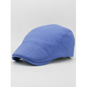 Solid Color Cotton Flat Jeff Hat -