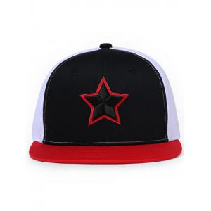 Star Pattern Embroidery Sunscreen Hat -