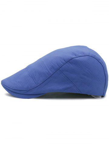 Store Solid Color Cotton Flat Jeff Hat
