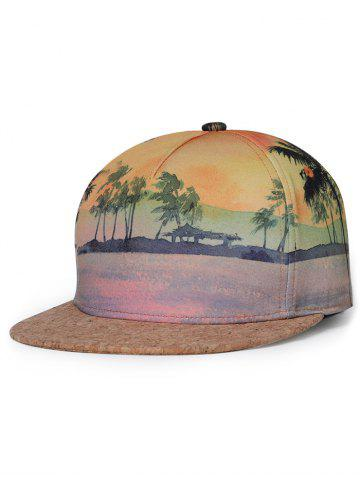 Chapeau de baseball Sunset Beach View