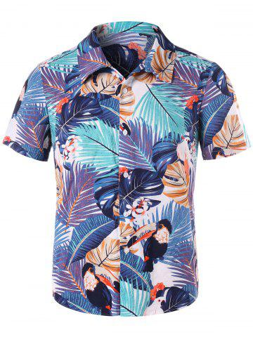 Buy Tropical Print Shirt