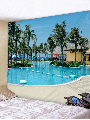 Outfit Wall Hanging Art Swimming Pool Print Tapestry