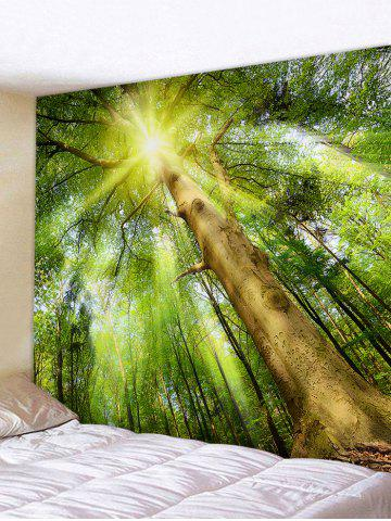 Outfits Sunlight Forest Printed Wall Decor Tapestry