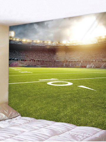Outfit Football Playground Printed Wall Decor Tapestry