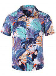 Tropical Print Shirt -