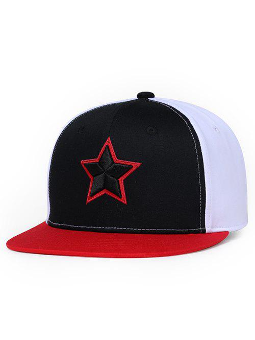 Outfits Star Pattern Embroidery Sunscreen Hat