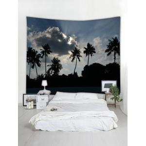 Wall Hanging Art Palm Trees Pattern Tapestry -