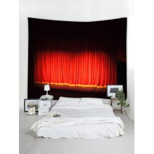 Stage Curtain Print Tapestry Wall Hanging Art Decoration -