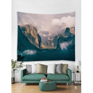 Wall Hanging Art Mountains Print Tapestry -