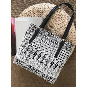 Lace Decorated Casual Shoulder Bag -