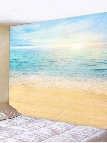 Sale Sea Waves Beach Printed Wall Hanging Tapestry