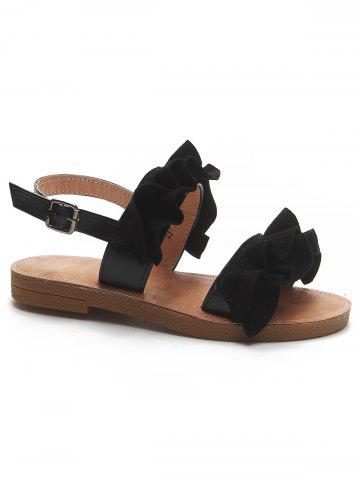 Latest Leisure Ruffles Decorated Sandals for Holiday