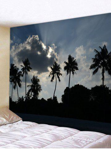 Latest Wall Hanging Art Palm Trees Pattern Tapestry