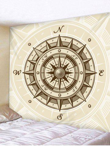New Compass Vector Printed Wall Hanging Tapestry